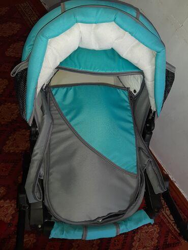 Коляски - Кыргызстан: Продаётся коляска в хорошем состоянии 4000с цена договорная.тел