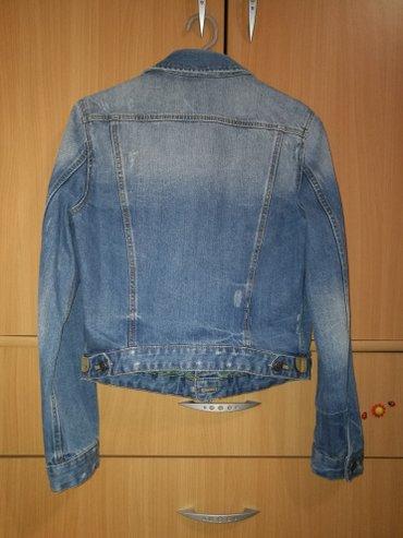 Zara, teksas jakna, tri puta nošena, veličina l - Novi Banovci - slika 2