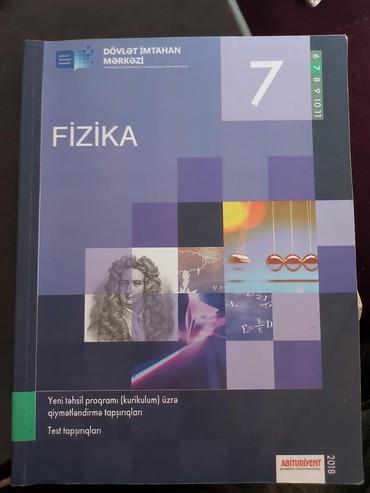 jurnal - Azərbaycan: Fizika 7- ci sinif kurikulum uzre test tapsiriqlari.Yepyenidir.Hec