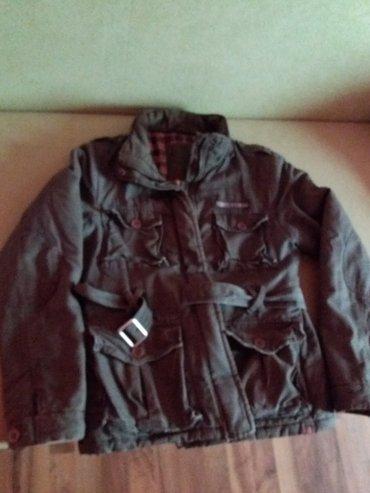Kozna-jakna-bila-je-e - Srbija: Maslinasto zeleno jakna,očuvana,topla. Meni je mala. Bila u vakum