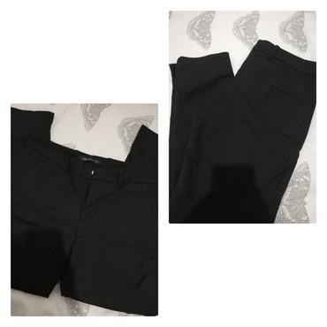 Poslovne pantalone - Srbija: ZARA M elegantne pantalone, poslovne. Šira nogavica. Skroz crne