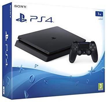 Xırdalan şəhərində Playstation 4 SLIM 1 TB TEZE.1 IL RESMI ZEMANETLE 580 AZN