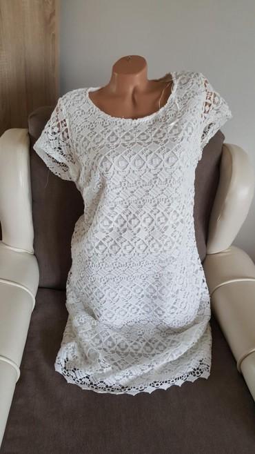 C&A nova cipkana haljina, vel 42. Kvalitetna cipka.  Mere su - Arandjelovac