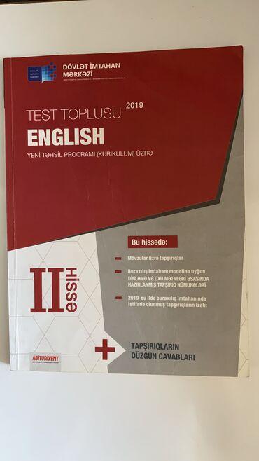 "Банк тестов Test toplusu ""English"""