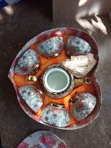 рисоварка бишкек in Кыргызстан | ГРУЗОВЫЕ ПЕРЕВОЗКИ: Продаю новую посудуЧайные сервизы по 400сРисоварка 950 сНабор столовых