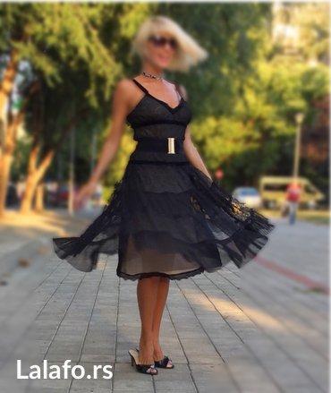 Svaku-priliku-haljina - Srbija: Elegantna crna haljina na bretele za svaku priliku, postava bez boje i