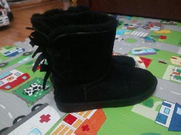 Ženska obuća | Gornji Milanovac: Kozne ugg cizmeUnutra prirodno krznoSamo je plocica na jednoj cizmi