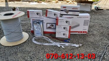Kamera Servis Təhlükəsizlik Sistemleri • Hikvision👍 Kampaniya 400 AZN