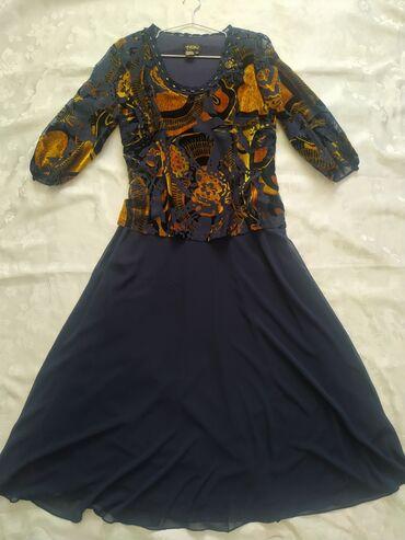 панбархат платья in Кыргызстан | ПЛАТЬЯ: Продаю платье, размер 52,Турция, панбархат