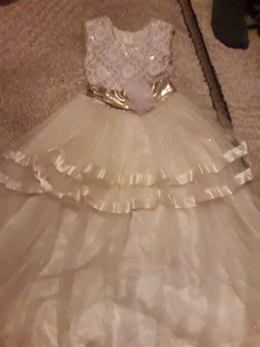 детские вещи 8 лет в Кыргызстан: Платье 7-8 лет в хор состоянии г. Токмок