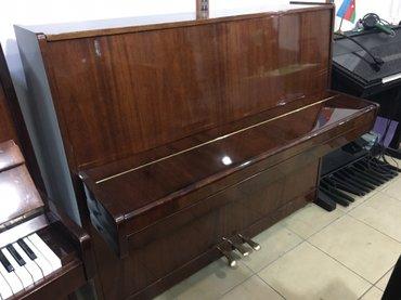 Yevlax şəhərində Pianino yevlax seherinde sovet pianinalari movcutdur 250 manatdan