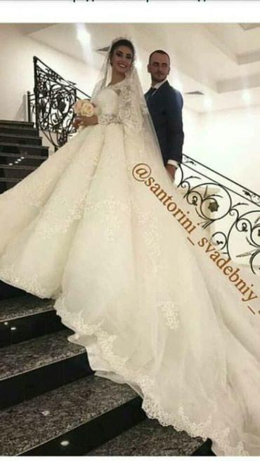 Свадебное платья  в точ как на фото почти новая в Исфана