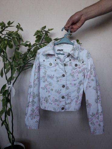 Джинсовая куртка на девочку 9-10 лет. В в Бишкек