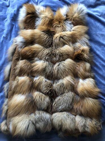размера л в Кыргызстан: Продаю жилетку!!! Надевала 1 раз. Мех натуральный, Лиса. Размер XL