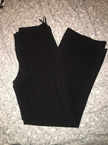 Poslovne pantalone - Srbija: Crne zenske poslovne zimske pantalone Velicina 38