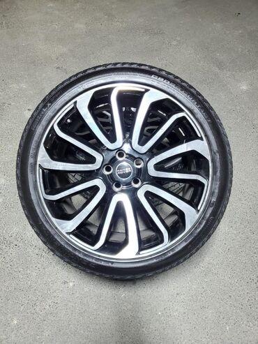 disklər-təkərlər - Azərbaycan: Range Rover 22 lik Original təkərlər təzə