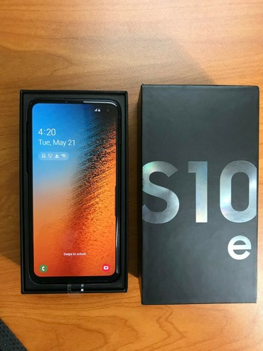 Brand new original Samsung Galaxy S10e 256GB comes with 12 months σε Central Athens