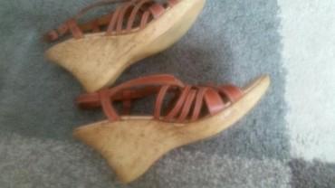 Ženska obuća | Pirot: Yessica ženske sandale kozne na plutu. Broj 38 Veoma su udobne