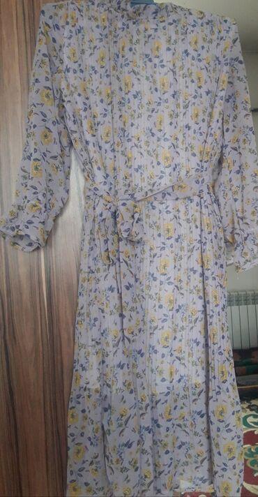 Плиссированное, шифоное и очень нежное платье весна-лето