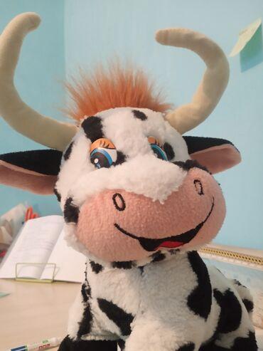 Корова. Мягкая игрушка. Находятся в мрн. Аламедин-1