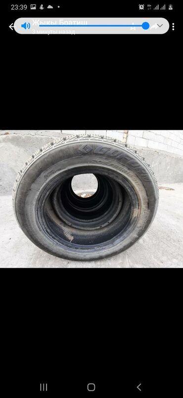 шины 205 55 r16 зима в Кыргызстан: Продаю зимние шины б/у 205/55 R16 91T . Почти новые позвоните по