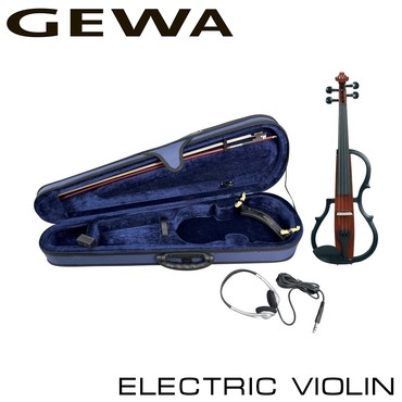 Скрипки - Кыргызстан: Скрипка Gewa Electric ViolinЭлектронная Скрипка 4/4 комплект Gewa