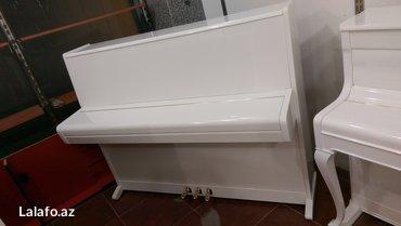 Bakı şəhərində Pianino Weinbach  - 3 pedallı ideal veziyyetde orijinal Çexiya