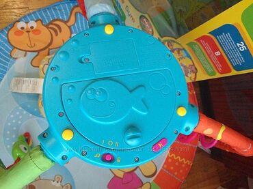 Развивающий коврик для малышей от фирмы chicco Игровой центр в