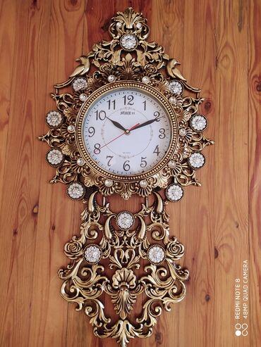 Ev saati - Azərbaycan: Divar saatı yenidir, öz karopkasındadır, əlavə hədiyyə paketidə var