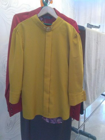Блузка крепжаржет. одета один раз. состояние отличное в Бишкек
