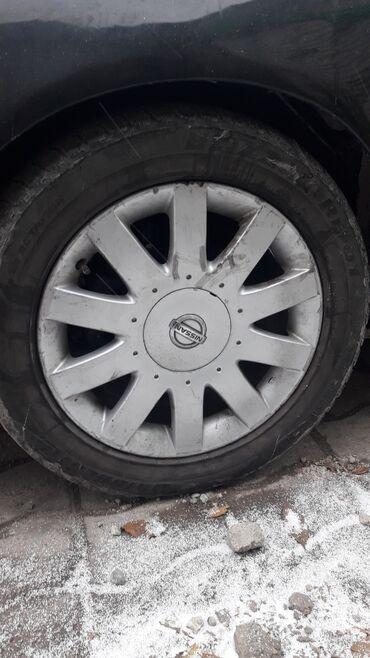 шины 21560 r17 лето в Кыргызстан: Меняю диски R17 на R16 или 15. 4 шт
