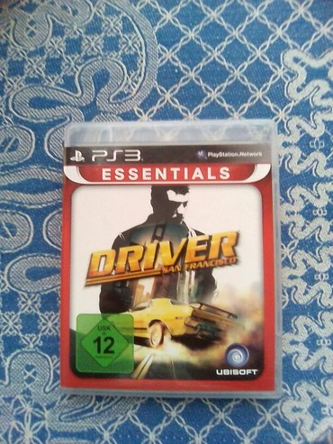 Bakı şəhərində Driver San Francisco for Ps3(From Germany)