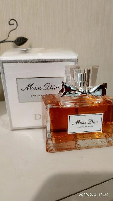 Парфюмерия в Кыргызстан: Продаю Miss Dior оригинал 100мл . Не хватает пару пшиков