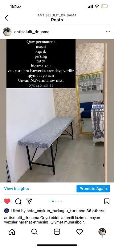 avto servis icareye verilir in Azərbaycan | DIGƏR KOMMERSIYA DAŞINMAZ ƏMLAKI: Otaq, ve kuwetkada yer arendaya verılır, hemcının dırnaq stolu arenday