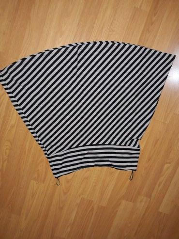 Suknja-hm-pamuk-elastin-cm-struk - Srbija: SNIZENJEEEEE. Pamucna suknja,duz.54 cm,struk 39 cm