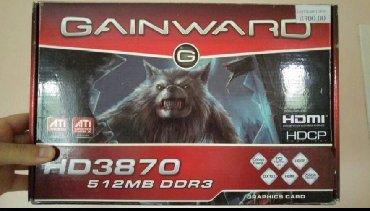 Ati radeon HD 3870 512MB 256bit DDR3Licno moja graficka, koja i dan