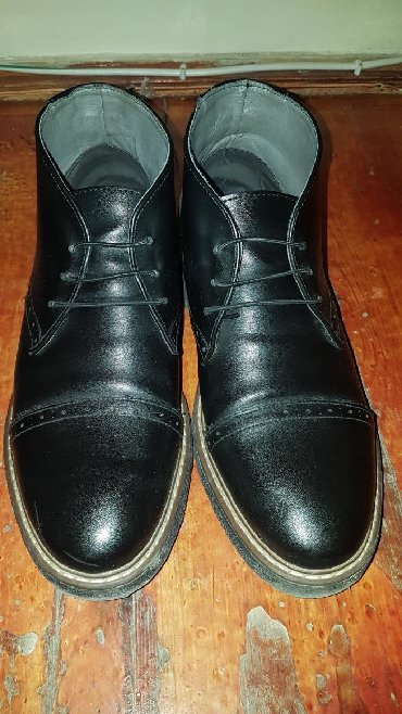 весенние мужские ботинки в Азербайджан: 41 razmer. 1 aydi alinib cox az geyilib hec 1 deffekti yoxdur yeni