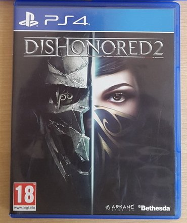 продаю игру на playstation 4 (ps4)dishonored 2 полностью на in Бишкек