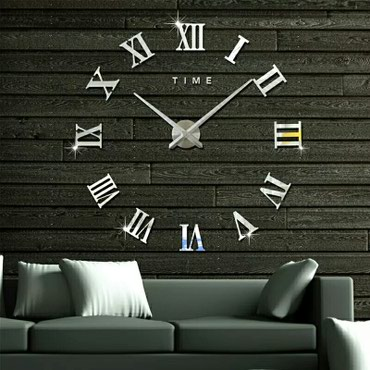 Sumqayıt şəhərində 3D Dekor Saat..Yeni..qutuda..orta daire mexanizm material