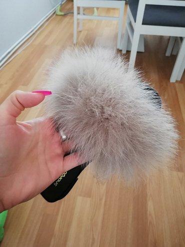 Papuče Nove, broj 37, prodajem ih jer su mi male. - Sid