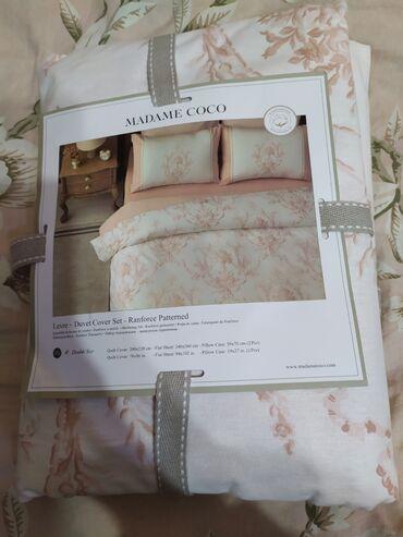 Продаю двуспальное постельное бельё Madame Coco, 100% хлопок. Размеры