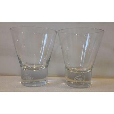 2 ποτήρια ουίσκι Grant's αχρησιμοποίητα