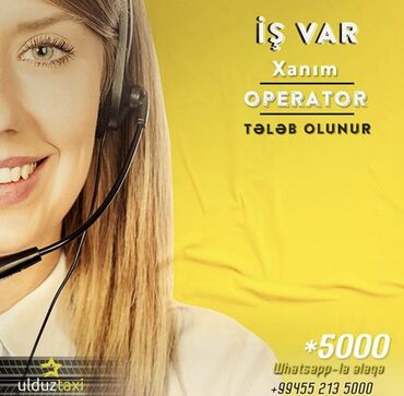 dizayner is elanlari - Azərbaycan: Ulduz taxi