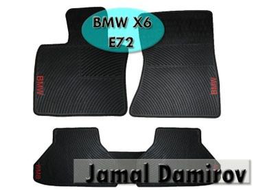 bmw-x6-xdrive30d-steptronic - Azərbaycan: BMW X6 E72 üçün silikon ayaqaltilar. Силиконовые коврики для BMW X6