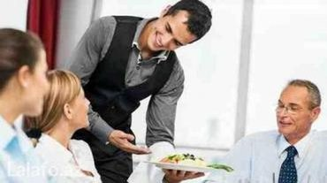 Bakı şəhərində Teecili ofsiant oğlan teleb olunur ailevi restorana şebeke ailevi