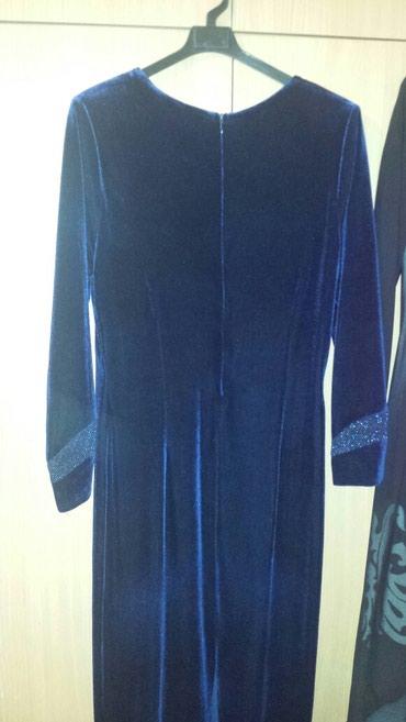 Длинное платье, велюр, в хорошем в Бишкек