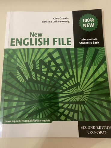 pocket book - Azərbaycan: New English file-intermediate Students book+workbook IDEAL