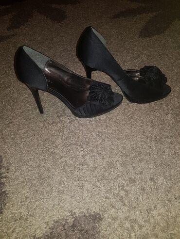 черные женские туфли в Кыргызстан: Женские туфли на каблуке, шпильки, чёрного цвета, размер 38,5 в