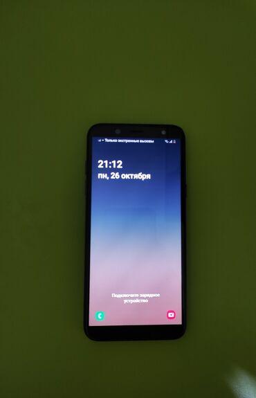 Telefonlar samsung - Azərbaycan: İşlənmiş Samsung Galaxy A6 32 GB göy