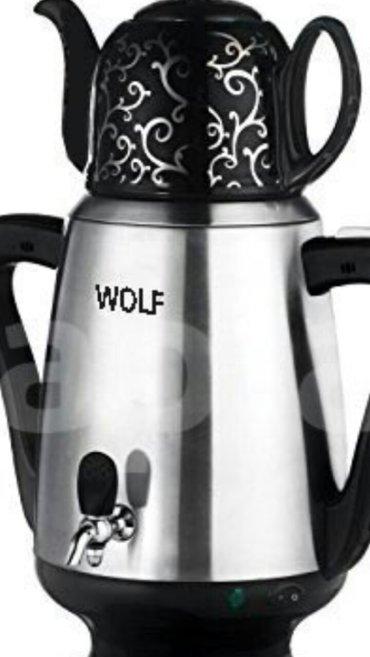 """Xırdalan şəhərində Elektrik samovar """"wolf""""3. 5 lt,catdirilma var. Nil gr"""